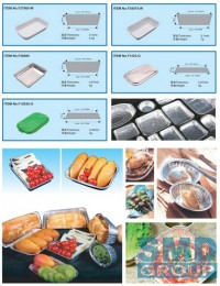 Aluminum foil food container production line